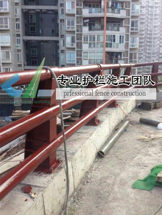 重庆防撞护栏施工现场