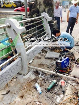 重庆桥梁护栏施工现场
